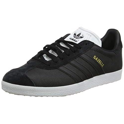 adidas Gazelle W, Scarpe da Fitness Donna, Nero (Negbás/Negbás/Ftwbla 0), 36 EU