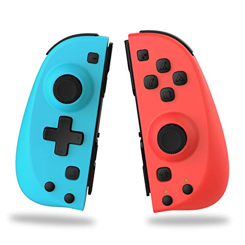 PENJOY C25 Joy Pad Switch Controller für Nintendo Switch, Ersatz für Joycon, Wired / Wireless Switch Controller, Programmierbare Makros, Turbo, Motion Control & Vibration