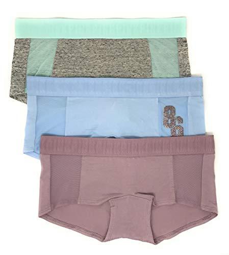 Victoria's Secret Damen Panty 3er Set Pink - - Mittel