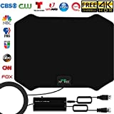 HDTV Antenna, 2020 Newest Indoor Amplified Digital TV Antenna 120 Miles Range...