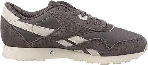Reebok Damen Classic Leather Nylon Fitnessschuhe, Mehrfarbig (Seasonal/Almost Grey/Pale Pink 000), 36 EU