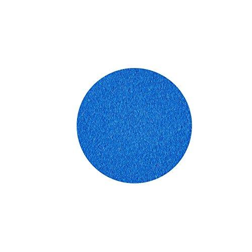 ESTA-Design Dessous de verre rond 100 % feutre mérinos 3 mm Ø 20 cm (bleu clair)