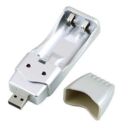 known Batería recargable NiMH AA AAA Cargador USB de alta capacidad AAA/AA * 2 = 160 mA USB DC5V Entrada USB/inversor