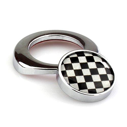 LVBAO - Bouton d'allumage de démarrage pour Mini Cooper ONE/S/JCW R61 R60 R55 R56 R57 R58 R59 F54 F55 F56 F57 F60 Clubman Countryman Hardtop Hatchback 4