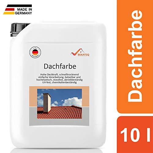 BEKATEQ Dachbeschichtung BE-510 seidenmatt -Dunkelrot - 10L
