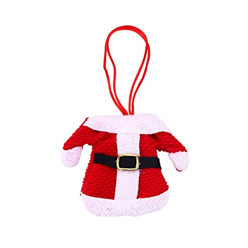 MYBOON 4pcs / Set / 1pc Box Vajilla de Navidad de Acero Inoxidable Cucharas de café Cuchara de Postre - 04#