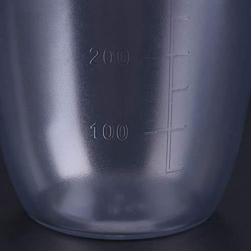 -Coctelera de Barra de Fugas, Botella de coctelera, Herramienta de coctelería de Resina de PC para té con Leche, cóctel, Bebida, Barra casera