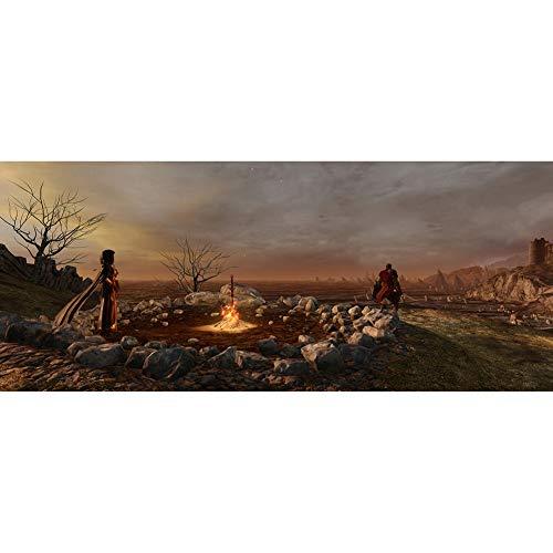 Rompecabezas 300, 500, 1000 Piezas de Dark Souls hoguera Entretenimiento juguete (Size : 300 Piece)