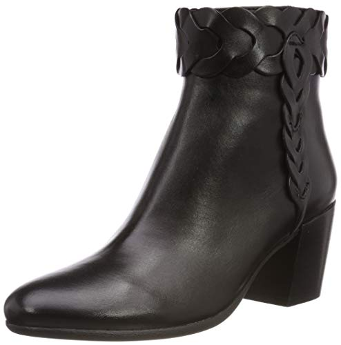 Geox D New Lucinda A, Botines Mujer, Negro (Black C9999), 40