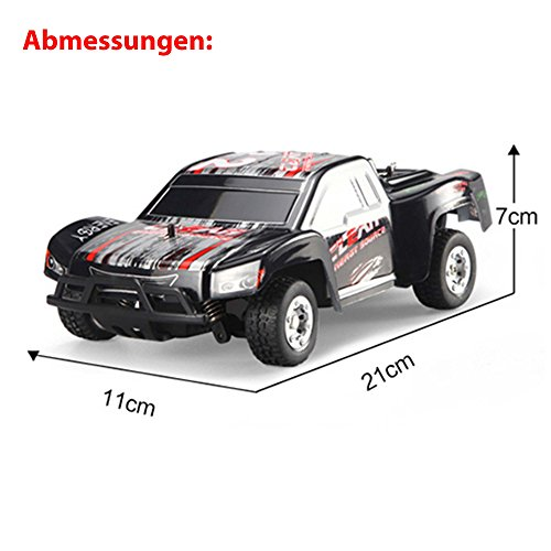 RC Short Course Truck kaufen Short Course Truck Bild 1: HSP Himoto 1 24 Off Road 2WD Mini RC ferngesteuertes High Speed Short Course Monstertruck Buggy, 2 4GHz Digital vollproportionale Steuerung Top Speed bis zu 25 km h, Komplett Set RTR*
