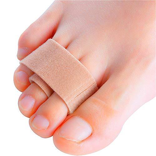 Sumiwish [4X] Alisador de dedos de martillo, corrector de dedo del pie para martillo, punta torcida, dedos superpuestos