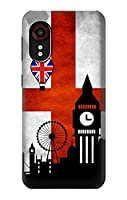 JP2979GX5 イングランドサッカー England Football Soccer Flag For Samsung Galaxy Xcover 5 用ケース