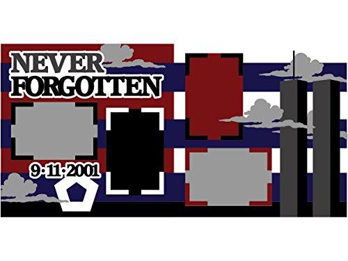 """Never Forgotten"" - Kit de álbum de recortes"