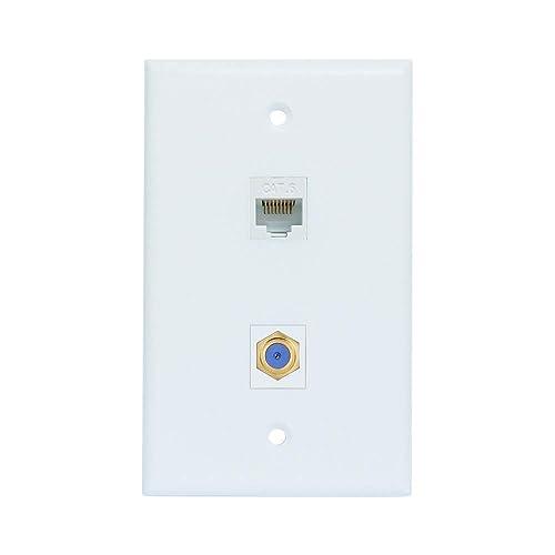 Ethernet Coax: Amazon com