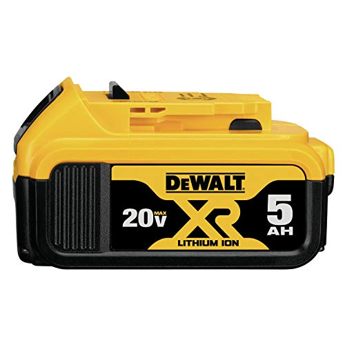 DEWALT 20V MAX XR Battery, Lithium Ion, 5.0Ah (DCB205) - $74