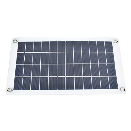 SALUTUYA Cargador de Panel Solar al Aire Libre Impermeable 7.5W 12V Portátil Ligero para teléfonos celulares, iPhone, iPad, Android, Samsung Galaxy LG, etc.
