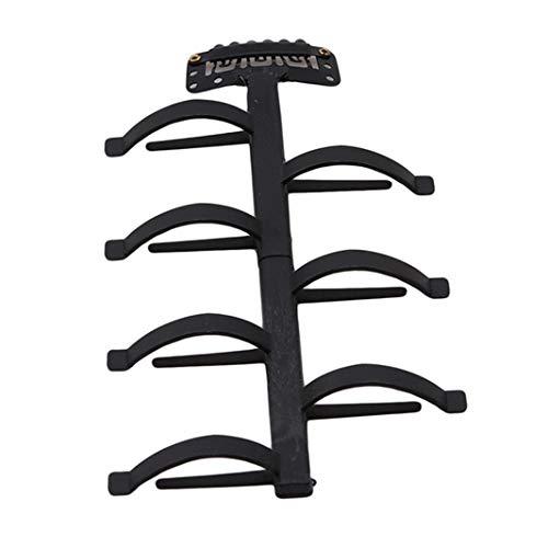 Sperrins 1pc Twist Braid Dispositif Braider Machine Hair Styling Tressage Outils de coiffure (noir)