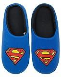 Superman DC Comics Superhero Logo Blue Men's Mule Slippers