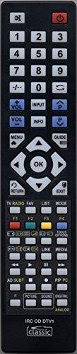 Ersatz Fernbedienung passend NUR für Jay-TECH, JTC J2032T2/ DVB-PS1320023HCAS, RC-NM.J2032C/DVB73203/ JTC2032T2 / LTV-J2032T2 JTC DVB-PMU165010HCATSi / GPRC15926