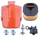 HD Air Filter Cover Intake Manifold Guide Screw Kit Fit Husqvarna 372XP 362 371 365 Chainsaw