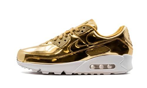 Nike Air Max 90 SP CQ6639 (Oro metálico/Oro metálico - 700), color Dorado, talla 38.5 EU