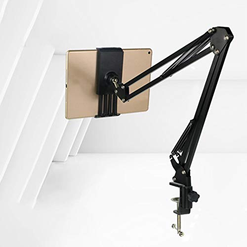allforyou Cama Ajustable Tablet Soporte Arm Universal Mujer DE Manos DE Manos DE Manos para EL Soporte DE LA TELÉFONO DE iPad