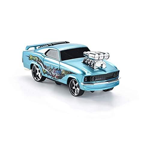 N&G Decoración del hogar Juguete para niños Drift Control Remoto Car Stunt Car Control Remoto Car Drift 2.4G Stunt Drift Car 1:18 Niños Pasatiempos (Color: Azul)