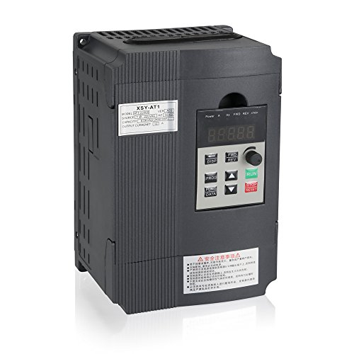 Variable Frequency Drive, MYSWEETY VFD Inverter Frequency Converter 2.2KW 3HP 220V 12A for Spindle Motor Speed Control (VFD-2.2KW)