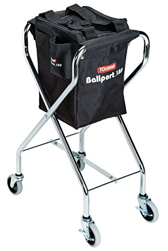 Tourna Ballport 180 Ball Travel Cart for Tennis and Pickleball