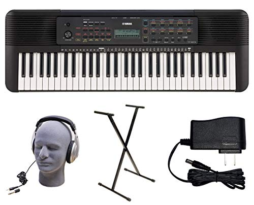 Yamaha PSR-E273 PKY 61-Key Premium Keyboard Pack with Power Supply, Bolt-On Stand, and Headphones (YAM PSRE273