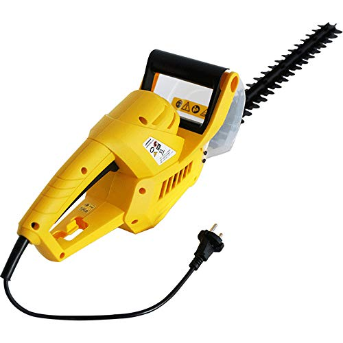 Best Buy! Hedge Trimmer, 550W Electric Hedge Cutter Diamond Grinding Blade 570Mm Length 20Mm Cutting...
