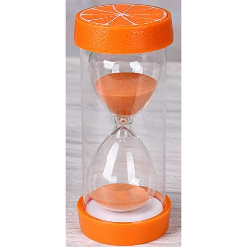 BGSFF Temporizador de Arena Reloj de Arena Temporizador Reloj de Arena Reloj de Arena Reloj de Arena 2 Paquetes de Frutas Reloj de Arena 5/10/15/20/30/45/60/minuto Temporizador Reloj d
