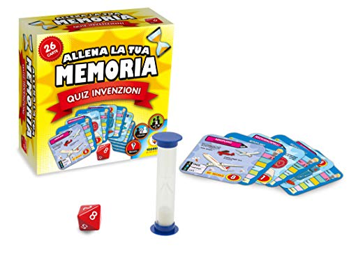 Teorema Giocattoli - Juego de Cartas de Entrenamiento de tu Memoria, Quiz Invenciones, 66205.
