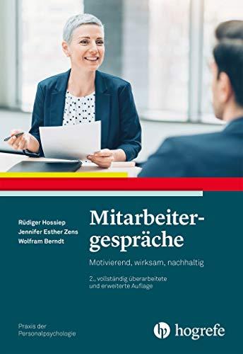 Mitarbeitergespräche (Praxis der Personalpsychologie) (German Edition)