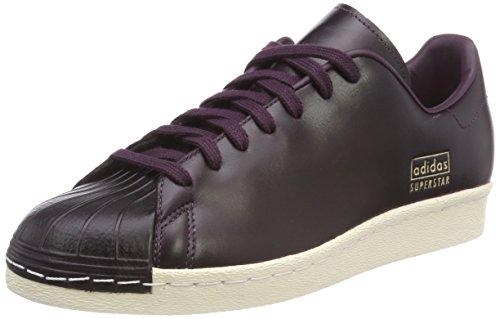 Adidas Superstar 80S Clean, Zapatillas de Deporte Hombre, Rojo (Rojnob/Rojnob/Senurb 000), 39 1/3 EU