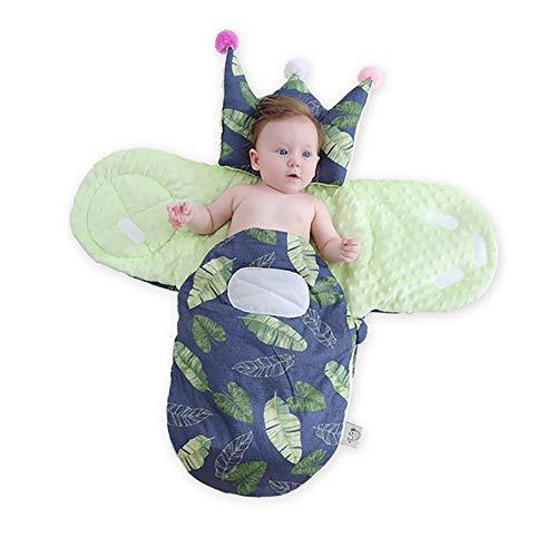 JW-DDP Herbst und Winter Baby Schlafsack, Neugeborene Outdoor Indoor warmen Baumwollschal Baby Schlafsack