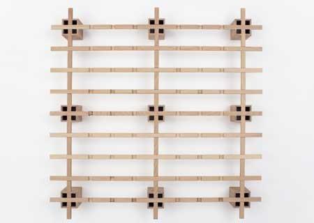 Tojo System Bett 100 Buche Multiplex 100 x 200cm
