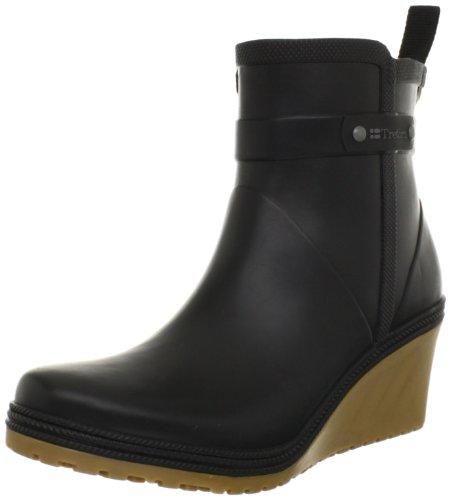 Hot Sale Tretorn Women's Plask Mid Rain Boot,Black,35 EU/4 B US
