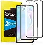 tomaxx 2X 6D Panzerglas für Huawei Y6s, Huawei Y6 2019, Honor 8A, Schutzfolie 9H Hartglas HD Glas [Anti-Kratz] Blasenfrei Bildschirmschutzfolie passt für Huawei Y6s Smartphone