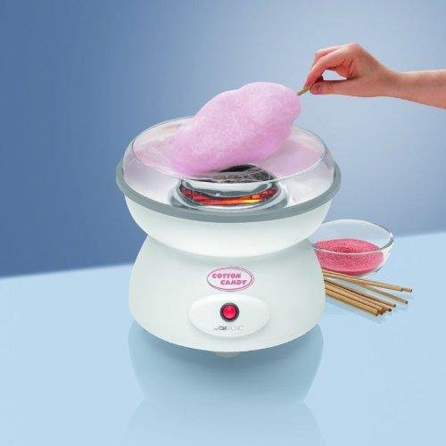 Zuckerwattemaschine für Zuhause Große Schale Spritzschutz Zuckerwatte Zuckerwatte Schale (Sparsame 500 Watt, Spritzschutz Spülmaschinengeeignet)