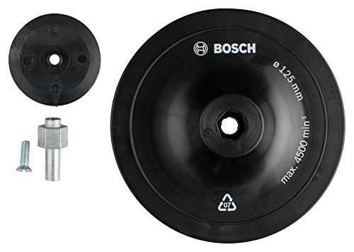 Bosch 1609200240 Sanding Plate, 125mm, Black