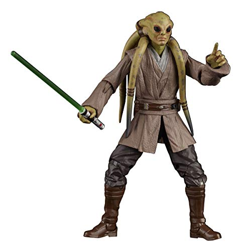 """Star Wars The Black Series Kit Fisto Toy 6"""" Scale The Clone Wars Collectible Action Figure"""
