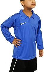 Nike Camiseta de Manga Larga Clásico Azul para Niño