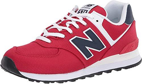 New Balance 574v2, Zapatillas para Hombre, Rojo (Red/Navy SCH), 43 EU