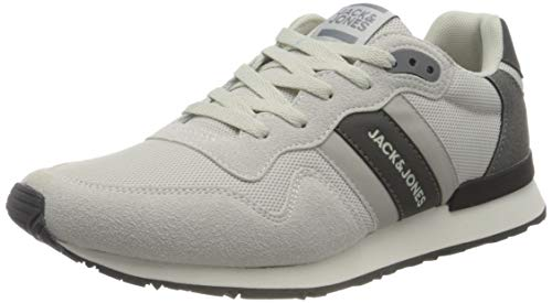 JACK & JONES Herren JFWSTELLAR MESH 2.0 Winter White Sneaker, 44 EU