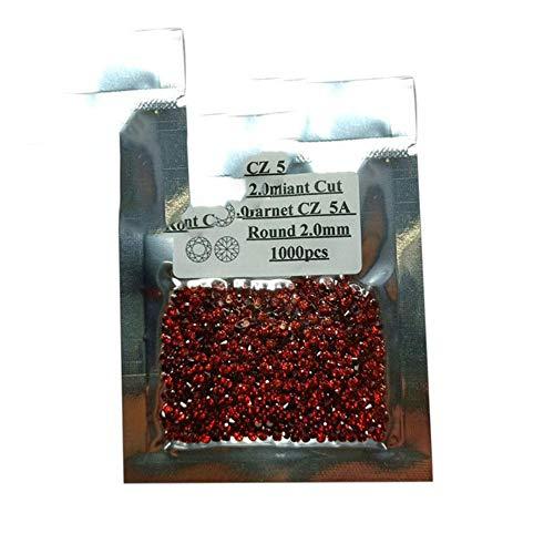 1000 piezas/lote 0,8~3,0 mm 5A calidad de varios colores de circonia cúbica...