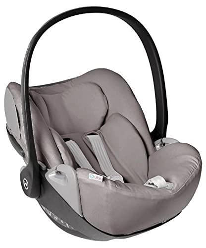Funda de verano Cybex Cloud Z para portabebés, color topo, ajuste perfecto, suave con certificado Öko-Tex 100, algodón que absorbe el sudor y suave para tu bebé.