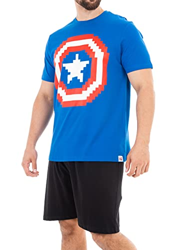 Marvel Pijama para Hombre Captain...