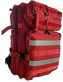 Hill - Mochila para senderismo, trekking de estilo militar táctico, gran volumen, unisex, viajes,...