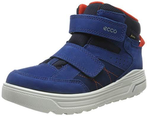 ECCO Jungen URBAN Snowboarder Hohe Sneaker, Blau (Poseidon/Poseidon/Fire 51290), 31 EU